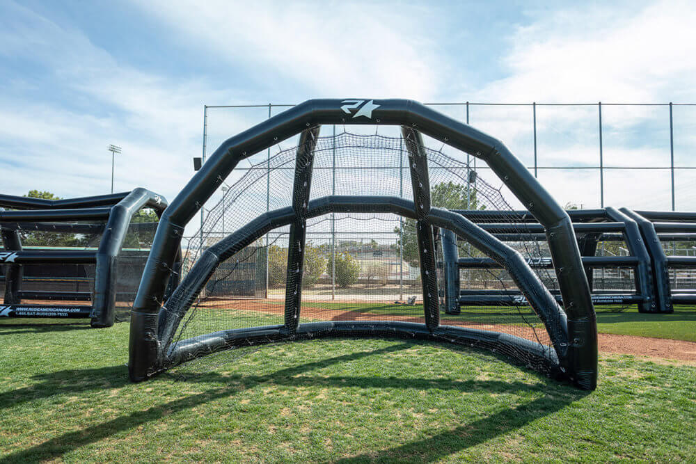 Inflatable Backstop