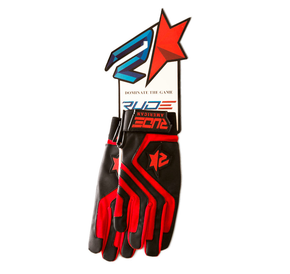 Rude American R Star Batting Gloves