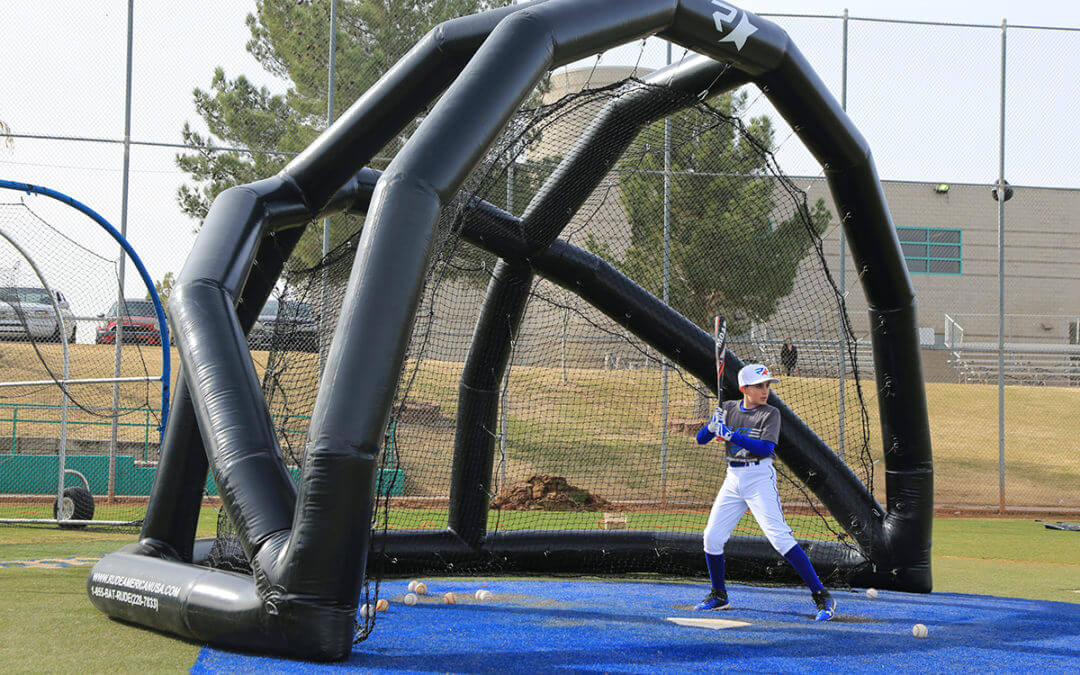 Spotlight: The Inflatable Turtle Backstop from Rude American