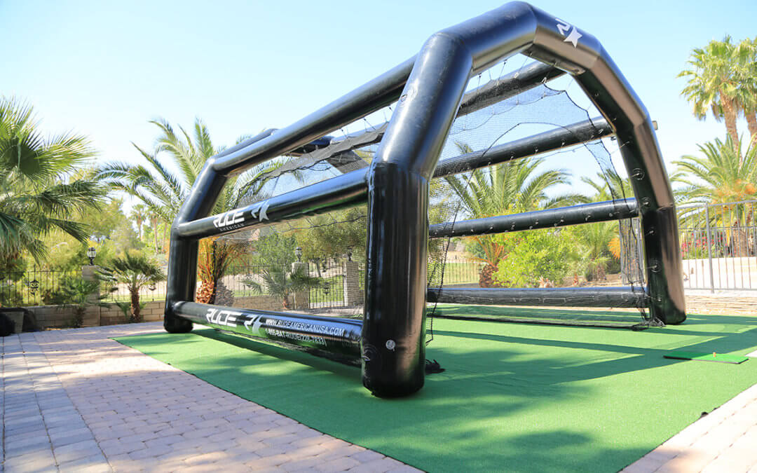 Spotlight: The inflatable Golf Driving Range from Rude American USA