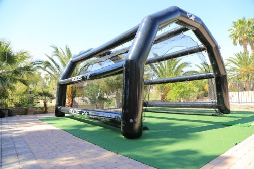 inflatable golf range display 1